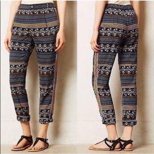 Anthropologie Elevenses Aralia Printed Pants R3026